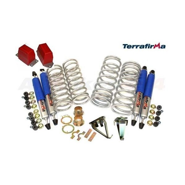 "4WD Parts: Terrafirma 4x4 2"" Pro-Sport Suspension Kit With Re-locaters For Land Rover Discovery 1"