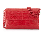 Bergdorf Goodman: Medium Crocodile Double-Chain Shoulder Bag For $3250