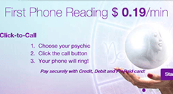 Life Reader: Only $0.19 Per Minute For Your First Psychic Phone Reading