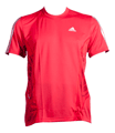 Onsport: Adidas Climacool Running Tee - Red For $60
