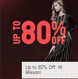 Gilt: 80% Off M Missoni