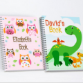 LivingSocial: Personalised Kids Sketch Book From $12