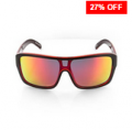 Find Sports: 27% Off Carve Anchor Beard Matt Black W/Red Revo Polarized Sunglasses