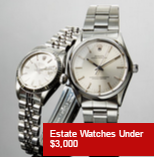 Gilt: Estate Watches Under $3,000