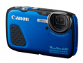 Camera House: Canon Powershot D30 Blue Digital Compact Camera $299
