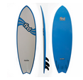 "Find Sports: 60% Off Find 6'0"" Quadfish Duralite Surfboard"