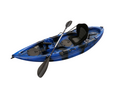 Find Sports: 53% Off Find Stealth 2.7 Fishing Kayak Blue Camo Single 5 Rod Holders Deluxe Seat Paddle
