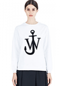 LN-CC: 50% Off J.W. Anderson Women's Logo Crew Neck Sweater