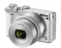 Camera House: Nikon 1 J5 W/10-30mm VR Lens White Compact System Camera $599