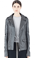 LN-CC: 40% Off Women's Stooges Long Leather Jacket