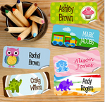 LivingSocial: Personalised Name Labels In Various Sizes From $6