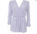InLoveWithFashion: Love Wrap Dress In Grey $54.84