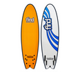 "Find Sports: 50% Off Find 6'6"" Tufflex Quadfish Soft Surfboard Orange"