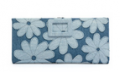 Bergdorf Goodman: Roger Vivier Floral-Denim Marguerite Buckle Wallet, Air Baltic $1150