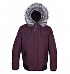 Point Zero: Arctic Hooded Bomber Jacket $250