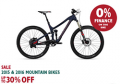 Evans Cycle: 30% Off Mountain Bikes