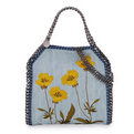 Bergdorf Goodman: Stella McCartney Falabella Mini Embroidered Denim Tote Bag $1100