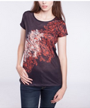 Point Zero: Front Back Floral Tee $47