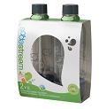 SodaStream: 1 Liter, Gray Carbonating Bottles (twinpack)