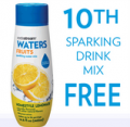 SodaStream: Choose 10 Sparkling Drink Mixes & Get Your 10TH Free
