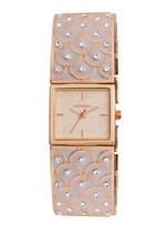 Monsoon: Gold And Mink Bangle Watch £25