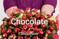 Edible Blooms: Chocolate Bouquests As Low As $39