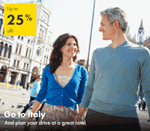 Europcar: 25% Off Car Hire At Italy
