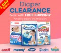 Lazada: Diapering Clearance: 75% Off + Free Shipping
