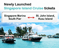 Easibook: Newly Launch Singapore Island Cruise Ferry Tickets