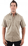 WorkwearHub: Bisley Original Cotton Drill SS Shirt For $39.95