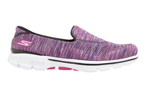 Onsport: Skechers Go Walk 3 Fitknit Extreme Multi Colour