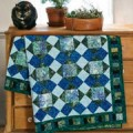 Keepsake Quilting: Emerald Sea Batik Quilt Kit