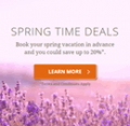 Choice Hotels: Spring Time Deals: 20% Off