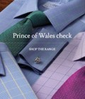Charles Tyrwhitt: Prince Of Wales Check Shirts 4 For $199