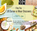 Easibook: Day Tour Trip: JB Durian & Muar Discovery