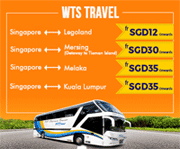 Easibook: Bus Ride From Singapore With WTS Travel