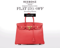Reebonz: Extra 25% Off Everything HERMÈS