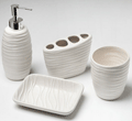 Canningvale: Ivory Ridge 4 Piece Accessory Set Only $17.95
