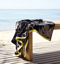 Canningvale: Cotton Velour Beach Towel - Paloma Only $15