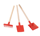 Hunting For George: Red Child's Gardening Tool Set For $18
