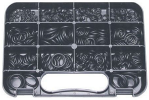 4WD Parts: 435-piece Imperial O-Ring Assortment 3/16'' To 1'' ID
