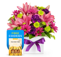Easy Flowers: Barbara Flowers Only $83 + Free Cookies