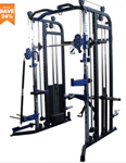 Gym And Fitness: 24% Off Brawin Strength Beast V3 Functional Trainer, Power Rack, Smith Machine Combo