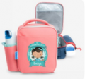 Hippo Blue: Lunch Bags