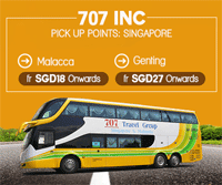 Easibook: Enjoy A Bus Ride From Singapore With Easybook Via 707 Inc