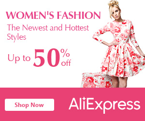 AliExpress: 50% Off Women's Clothing & Accessories