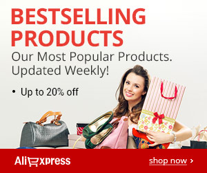 AliExpress: 20% Off Bestselling Products