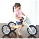 Hipkids: Pink 2 In 1 Wooden Trike/Balance Bike Starting From $139.95