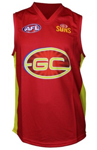 Sporting House Direct: Gold Coast Suns Official AFL Replica Adults Home Guernsey