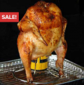 Latest Buy: Beer Can Chicken Roaster Just For $9.95